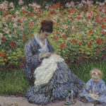 102202 - Claude Monet, Camille Monet and a Child 1875