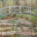 102203 - Claude Monet, Bridge Over a Pond of Water Lilies 1899