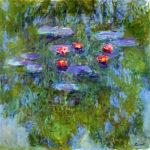 102211 - Claude Monet, Water Lilies, 1916-1919 3