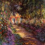 102216 - Claude Monet, Pathway in Monet's Garden 1901-1902