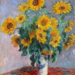 102219 - Claude Monet, Bouquet of Sunflowers 1880