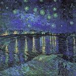 102304 - Vincent Van Gogh, La nuit étoilée sur le Rhone, 1888
