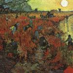102315 - Vincent  Van Gogh, The Red Vineyard  Arles, 1888