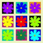 105114 Blomst multi lysgul