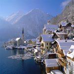 107617 Østrig, Byen Hallstatt