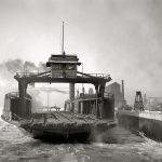 106115 Bilfærge Detroit ca 1900