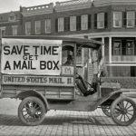 106142 Postvogn Washington 1920erne