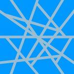 109122 Mikado  Lys blå/mellemblå