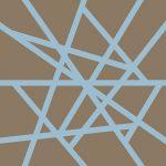 109123 Mikado  Lys blå/mellembrun