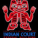 110143 Indiansk plakat 1930erne