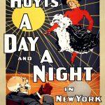 110144 Varieté plakat, 1890erne