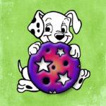 111104 Hund med bold
