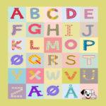 111505 Alfabet med firkanter DK, NO