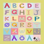 111506 Alfabet med firkanter - SE