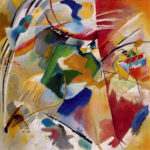 102103 - Kandinsky, Painting with Green Center