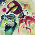 102112 - Kandinsky, With the Black Arch, 1912