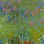 102201 - Claude Monet, Agapanthus Flowers 1914-17