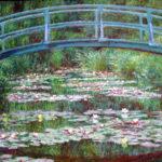 102204 - Claude Monet, Bridge Over a Pond of Water Lilies 1898