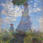 102214 - Claude Monet, Woman with a Parasol 1875