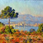 102220 - Claude Monet, Antibes Seen from Notre Dame, 1888
