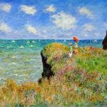 102223 - Claude-Monet-Clifftop-Walk-at-Pourville-1882