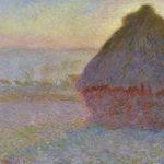 102224 - Claude Monet, Grainstack in Sunset, 1891