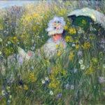 102225 - Claude Monet, In the Meadow, 1876