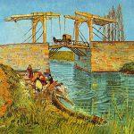 102305 - Vincent Van Gogh, Le pont de Langlois à Arles, 1888