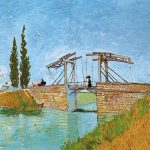102306 - Vincent Van Gogh, Le pont de Langlois à Arles, 1888