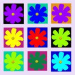 105115 Blomst multi lyslilla