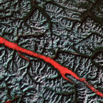 101513 Rocky Mountain Trench by NASA.USGS