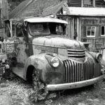 106101 Gammel Chevy Pick-Up