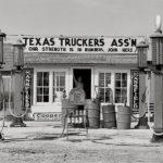 106119 Benzintank Texas 1930'erne