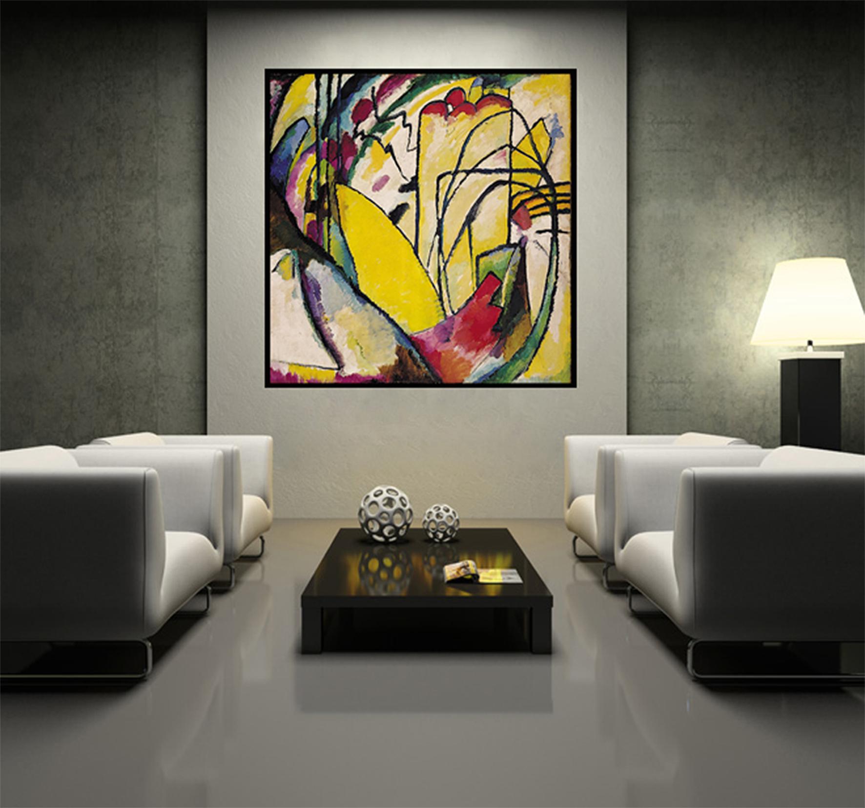11 Stue med Kandinski  AKUPRINT