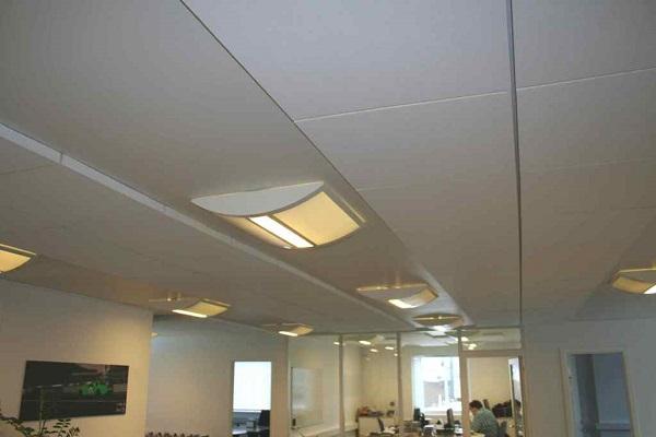Akuframe Direkt - lyddæmpende akustikplader til lofter